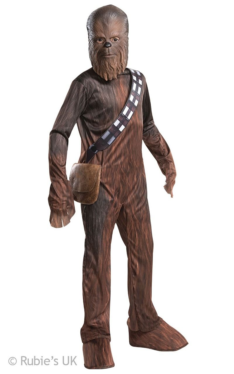 Chewbacca Costume Become the lovable hairy co pilot in our all new Chewbacca #Costume. A legendary Wookiee warrior and Han Solo's co-pilot aboard the Millennium Falcon, Chewbacca was part of a core group of Rebels who restored freedom to the galaxy. Known for his short temper and accuracy with a bowcaster, Chewie also has a big heart and is unwavering in his loyalty to his friends.