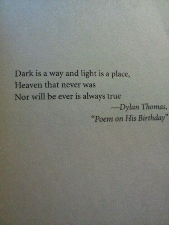 Dylan Thomas •