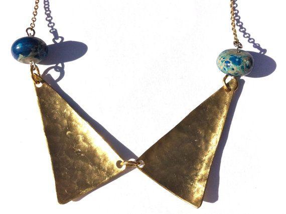 Brass triangles and jasper