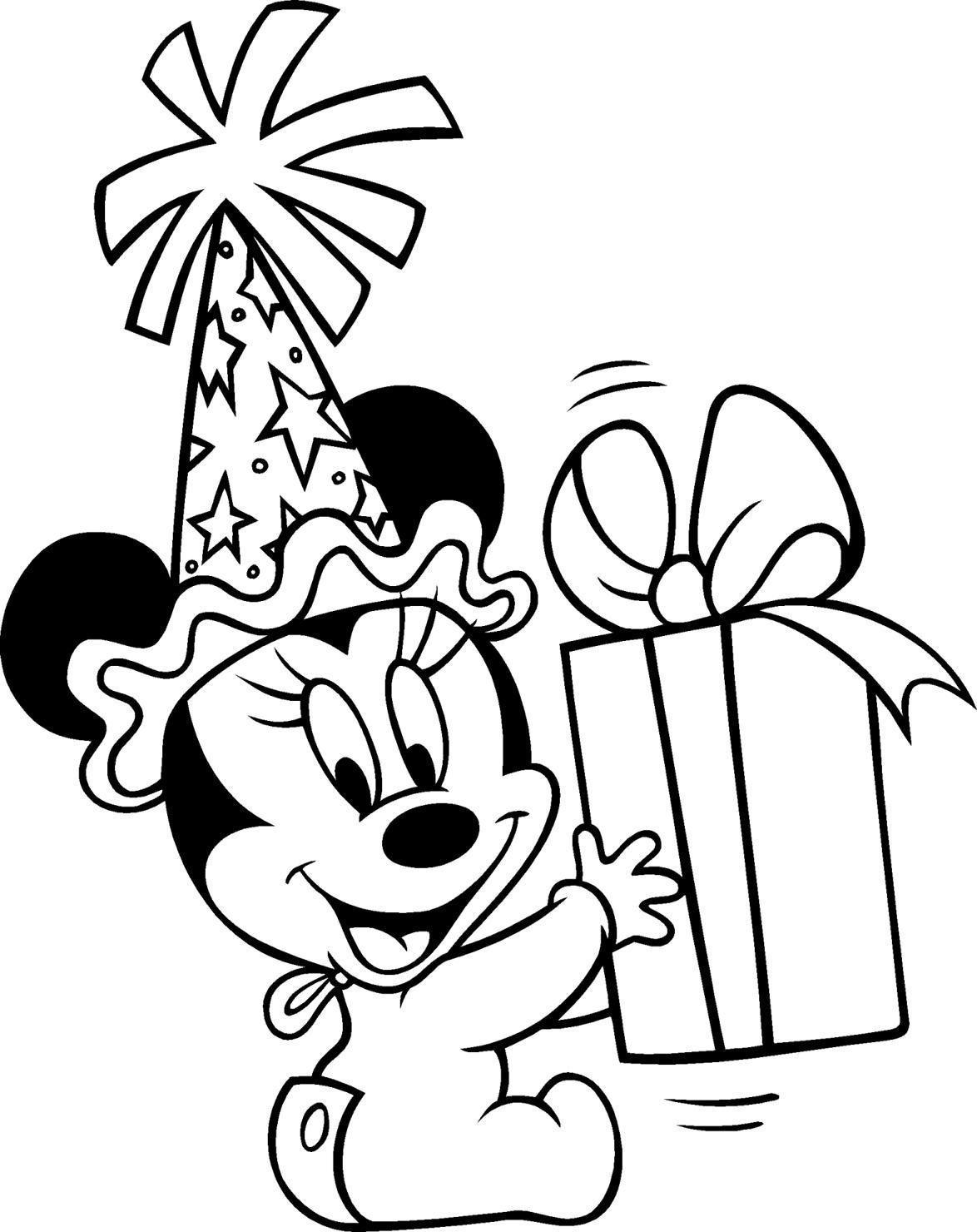 12 Coloriage Imprimer Mickey  Disney colors, Baby disney, Coloring