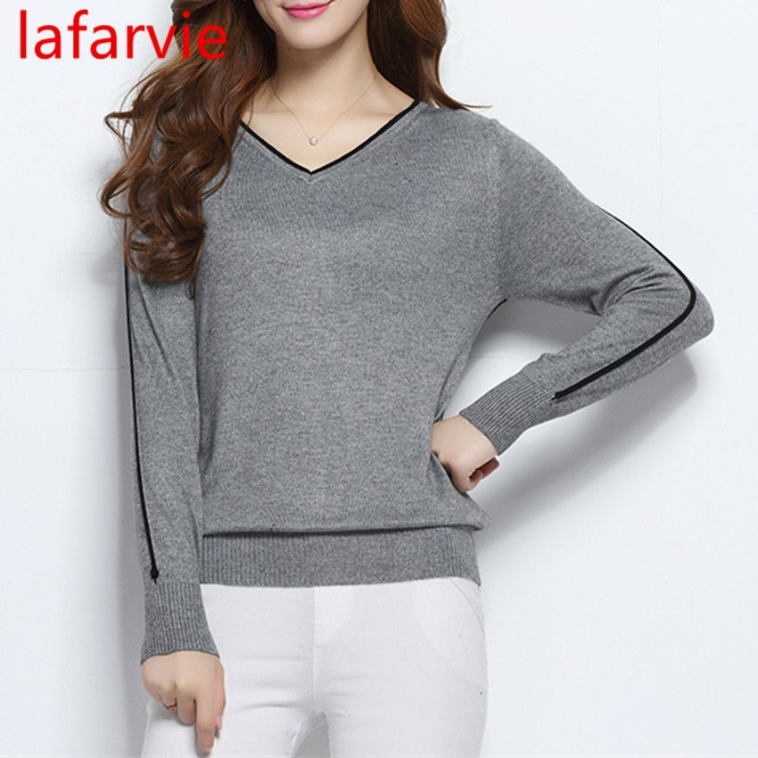 LAFARVIE LOWEST PRICE Women Fashion Outwear Pullover Knitted ...