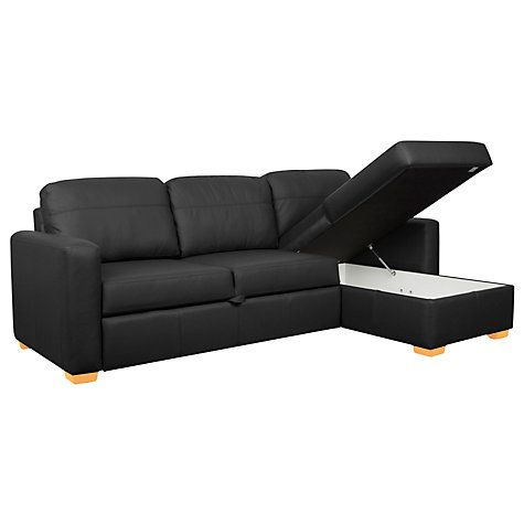 Terrific Buy John Lewis Sacha Sofa Bed Madras Leather Light Leg Gmtry Best Dining Table And Chair Ideas Images Gmtryco