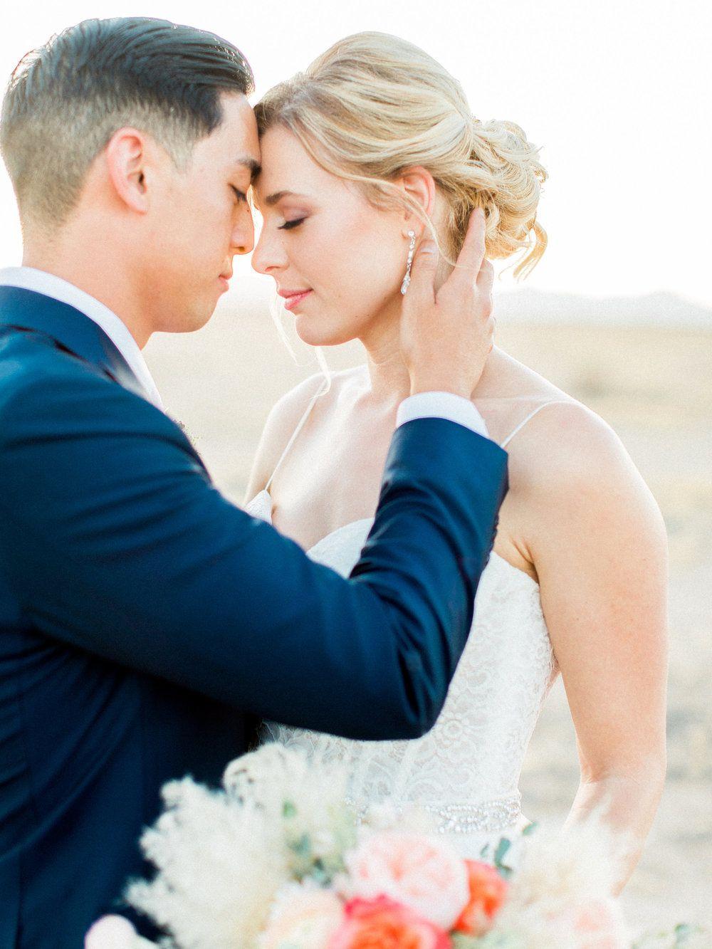 Modern boho desert garden wedding featured on greylikes weddings