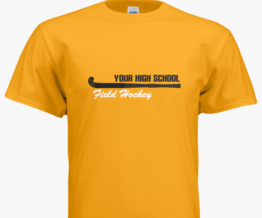 Design team field hockey shirts using our easy-to-use ...