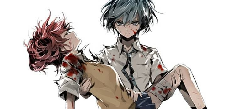 Bloody anime couple akuma no riddle dark bloody crazy - Dark anime couples ...
