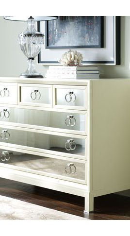 Dressers Chests And Bedroom Armoires Diy Mirrored Furniture Diy