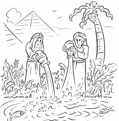 12 Page New Passover Coloring Book Printables Jewish Kids Coloring Books Coloring Pages Painted Books