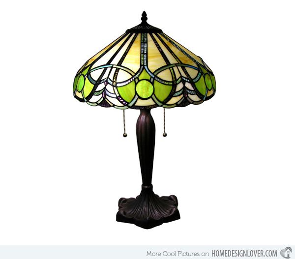15 Intricate Tiffany Table Lamp Designs