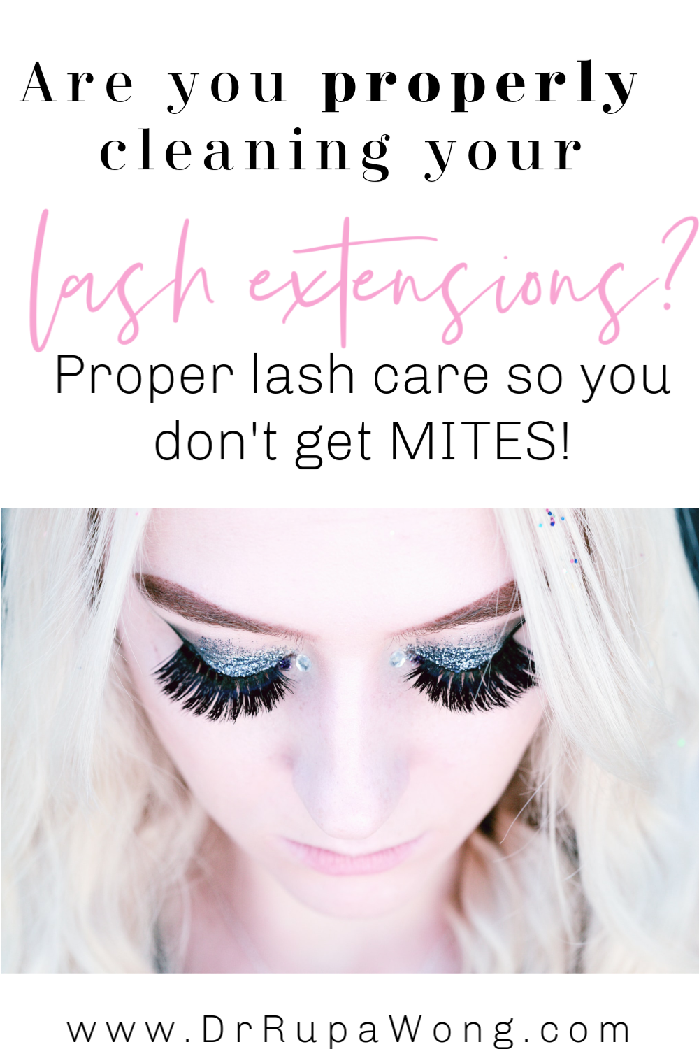 How to Clean Your Lash Extensions in 2020 (With images ...