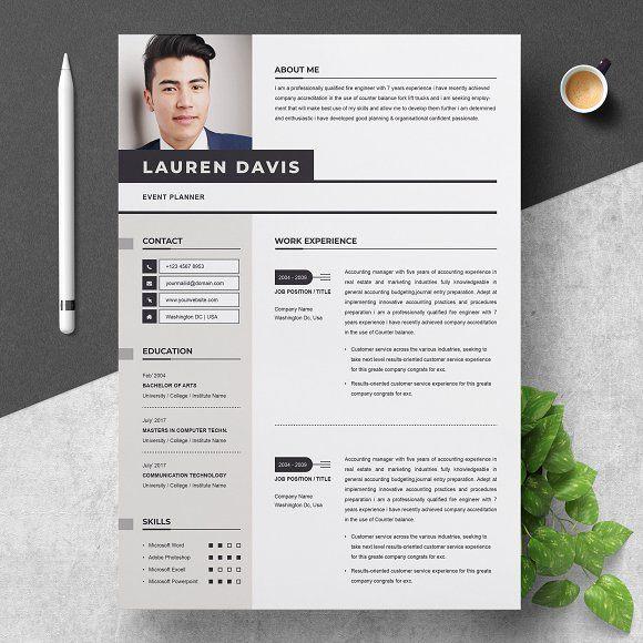 professional resume template  creativework247