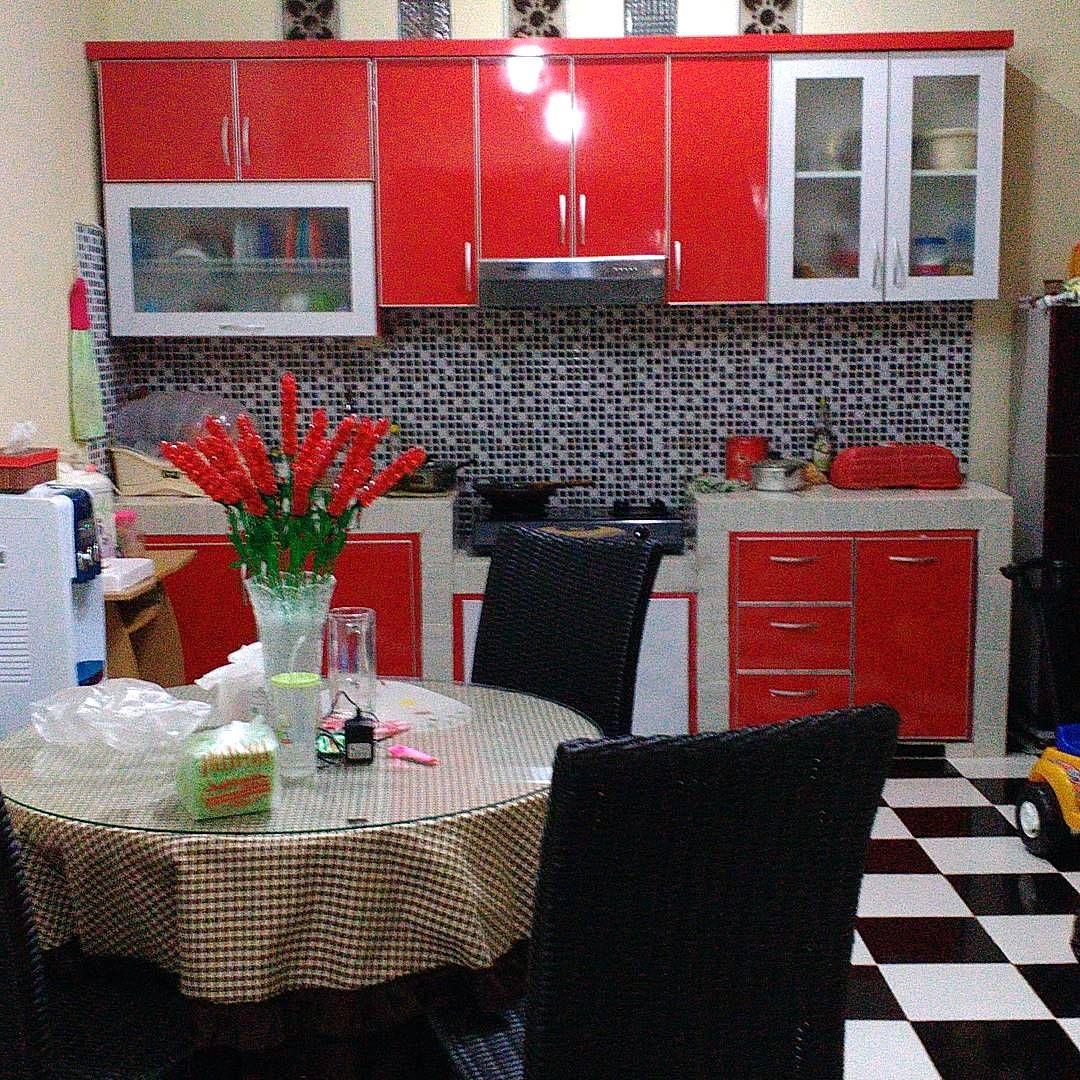 Kitchen Set Aluminium Minimalis Modern Homyracks