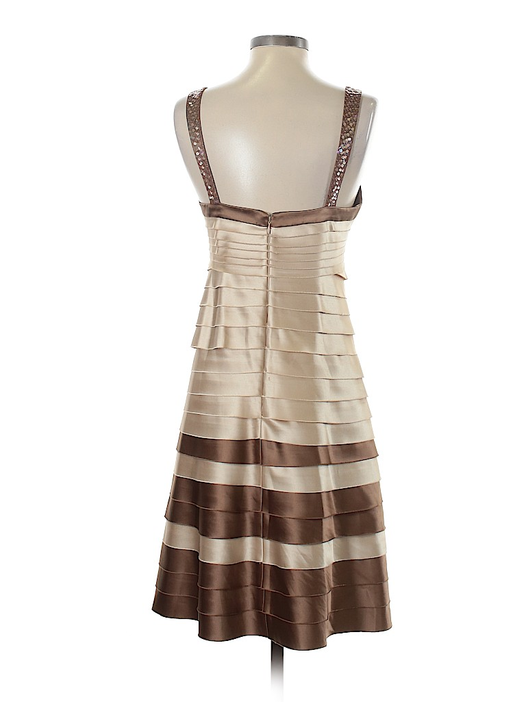 Bcbgmaxazria 100 Polyester Stripes Tan Brown Cocktail Dress Size S 86 Off In 2020 Brown Cocktail Dresses Dresses Cocktail Dress [ 1024 x 768 Pixel ]