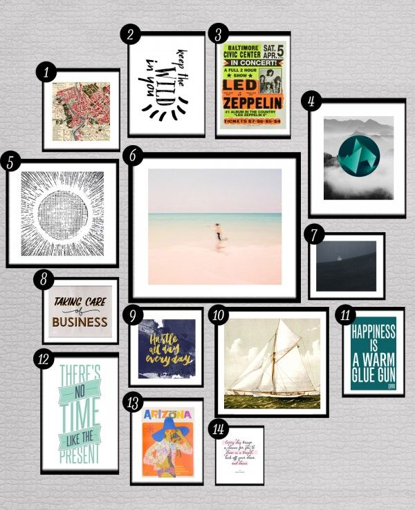 28 More Free Prints For Your Gallery Walls Printables