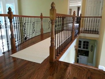 Job we installed last week added hardwood in this for Hardwood floors upstairs