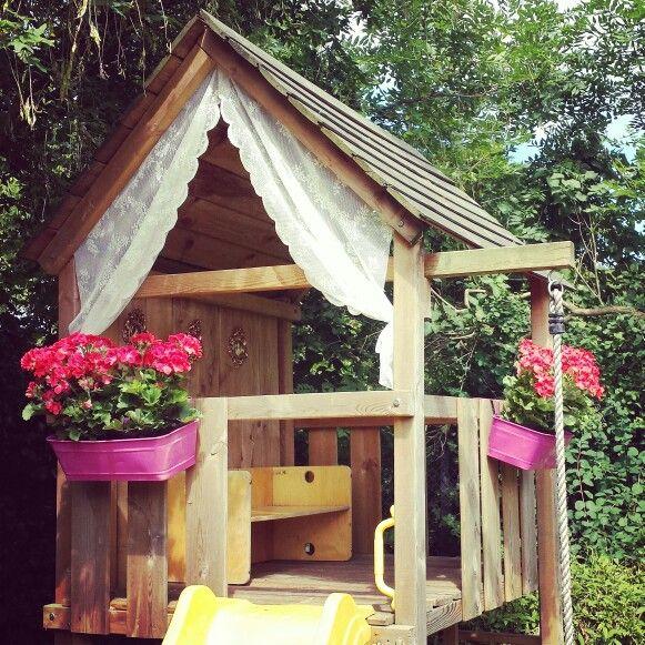 Een Zwembad In De Tuin Wie Wil Dat Nou Niet: Speelhuisje In De Tuin - Tuin