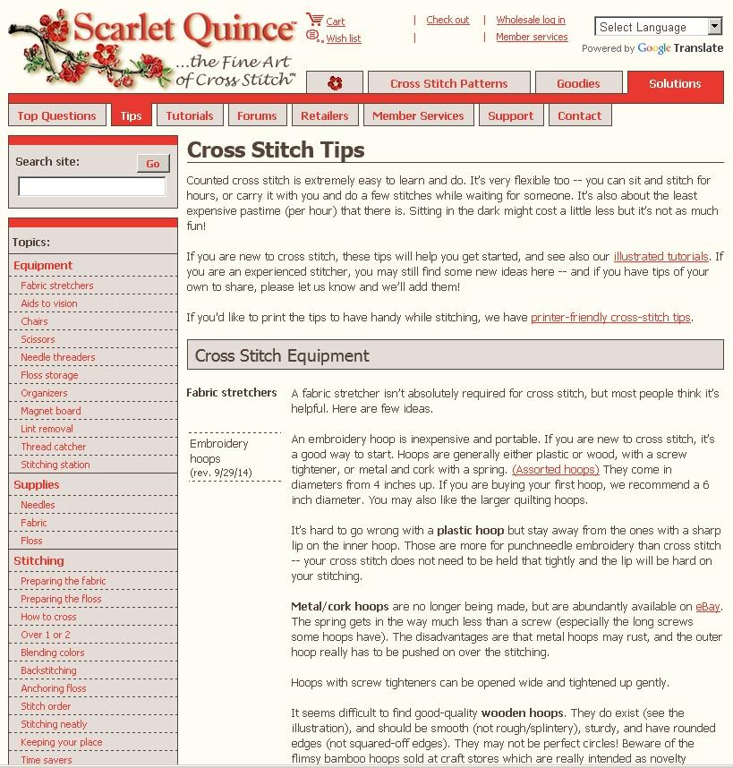 Ideas on all kinds of cross stitch gear to make your stitching life ...