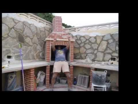 Barbacoa obra youtube jardines mi pasa - Como construir una barbacoa de obra ...