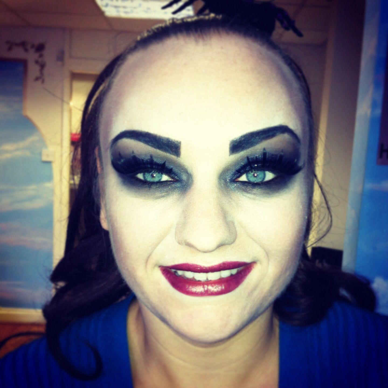 Illamasqua Halloween vampire make up!