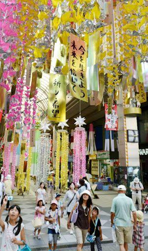 復興への願い込め、仙台七夕まつりが開幕
