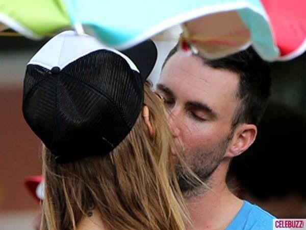 Adam Kiss New Girlfriend Adam Levine