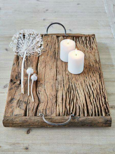 Lovely Rustic Wooden Tray More Vintagerusticfurniture Recycled Wood Projects Reclaimed Wood Tray Barn Wood Projects