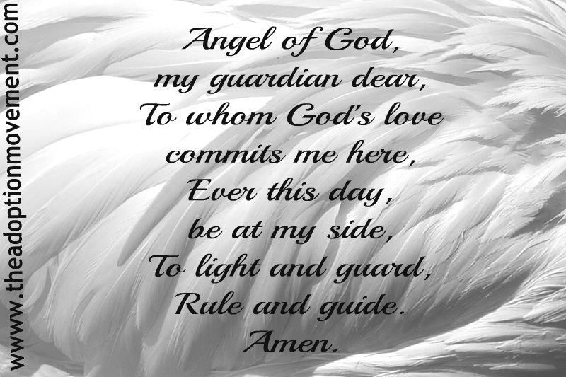 prayer to the guardian angel against fear - Google Search