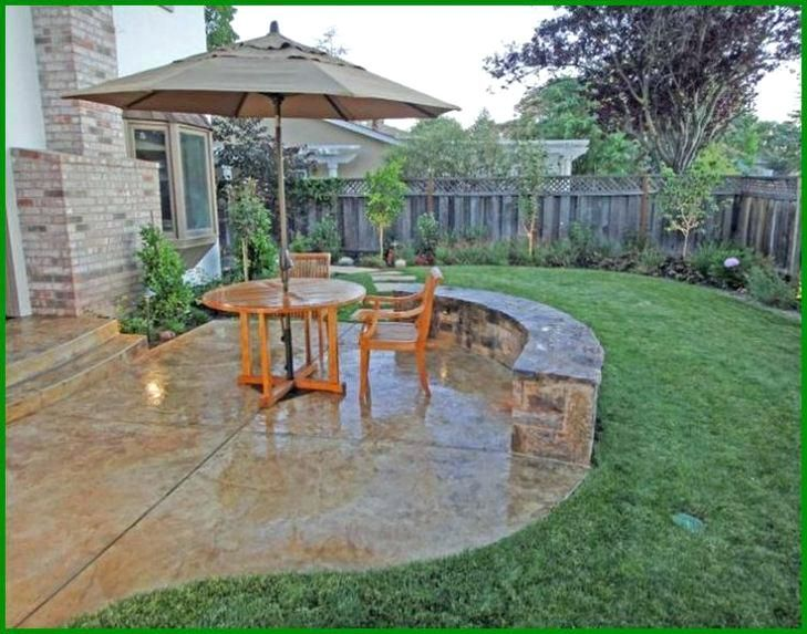 Attrayant Concrete Patio Cost Photo 1 Of 6 Cost Of Poured Concrete Patio 1 Best Concrete  Patio