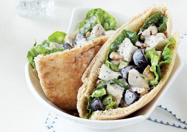 Crunchy Chicken Salad Pita