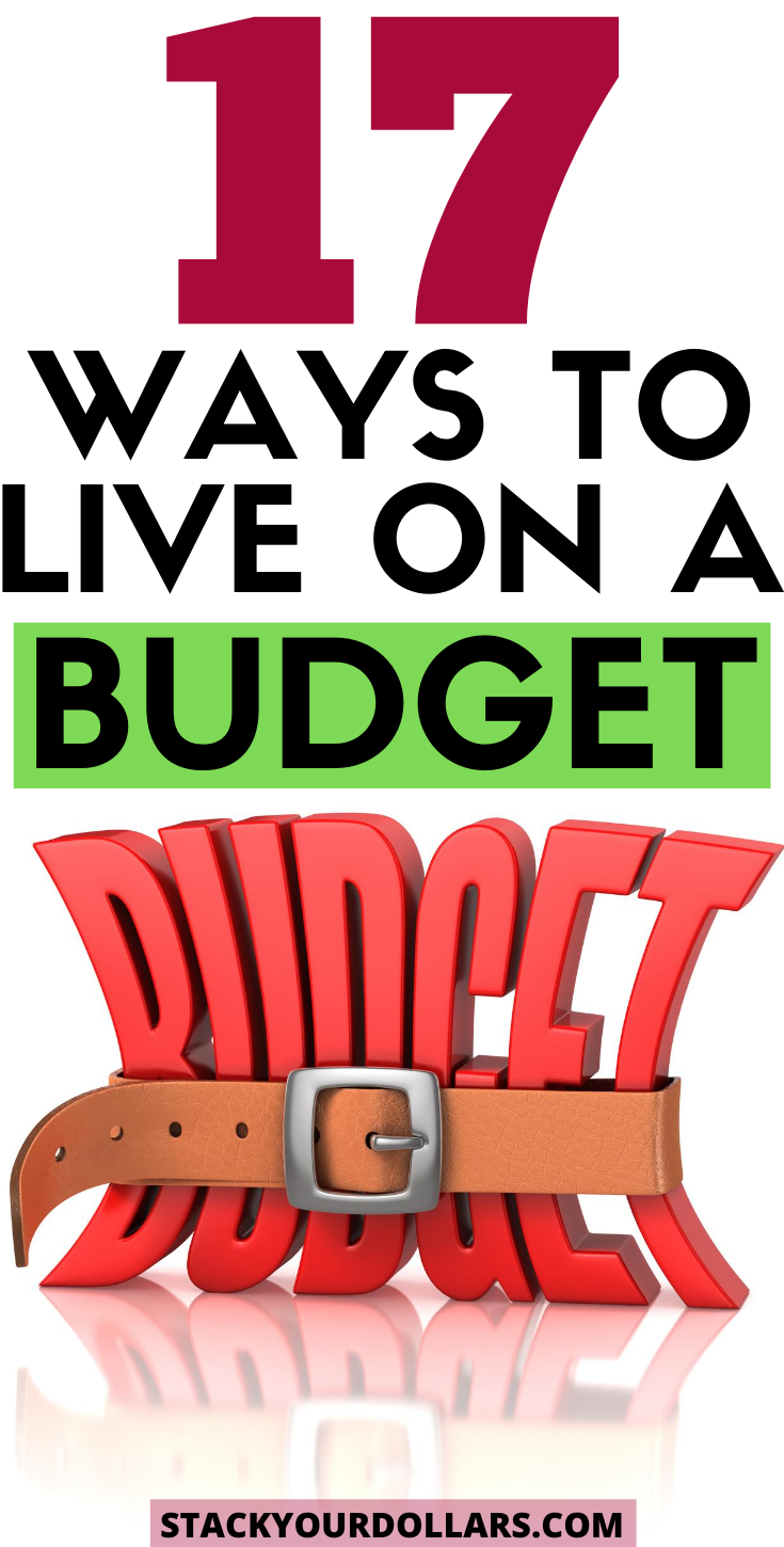 Here's how to live on a budget even when money is tight! You can budget to save money and live on less money than you thought you could. The key to taking control of your finances is to learn how to spend less money. Frugal living challenges you to live below your means. These frugal living tips can really help you save money fast and get your finances in order! #frugalliving #budgeting #moneysavingtips #stackyourdollars #makeabudget #budgetingtips