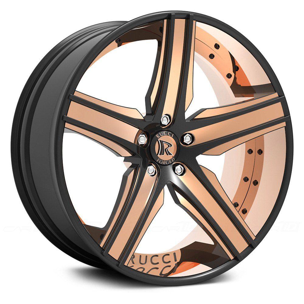 Rucci Lusso 2pc Custom Painted Car Wheels Rims Custom Wheels Cars Wheel Rims