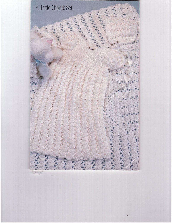 Little Cherub Set / Crochet Baby Blanket Patterns / Crochet Baby ...