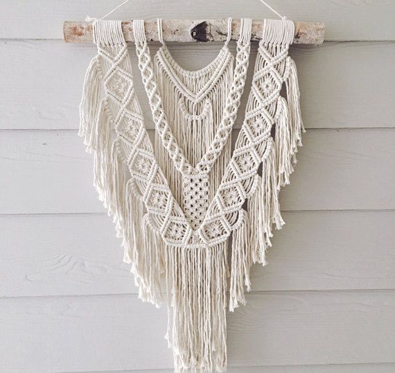 Brave – Large macrame wall hanging