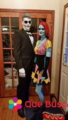 Disfraz de Halloween para pareja