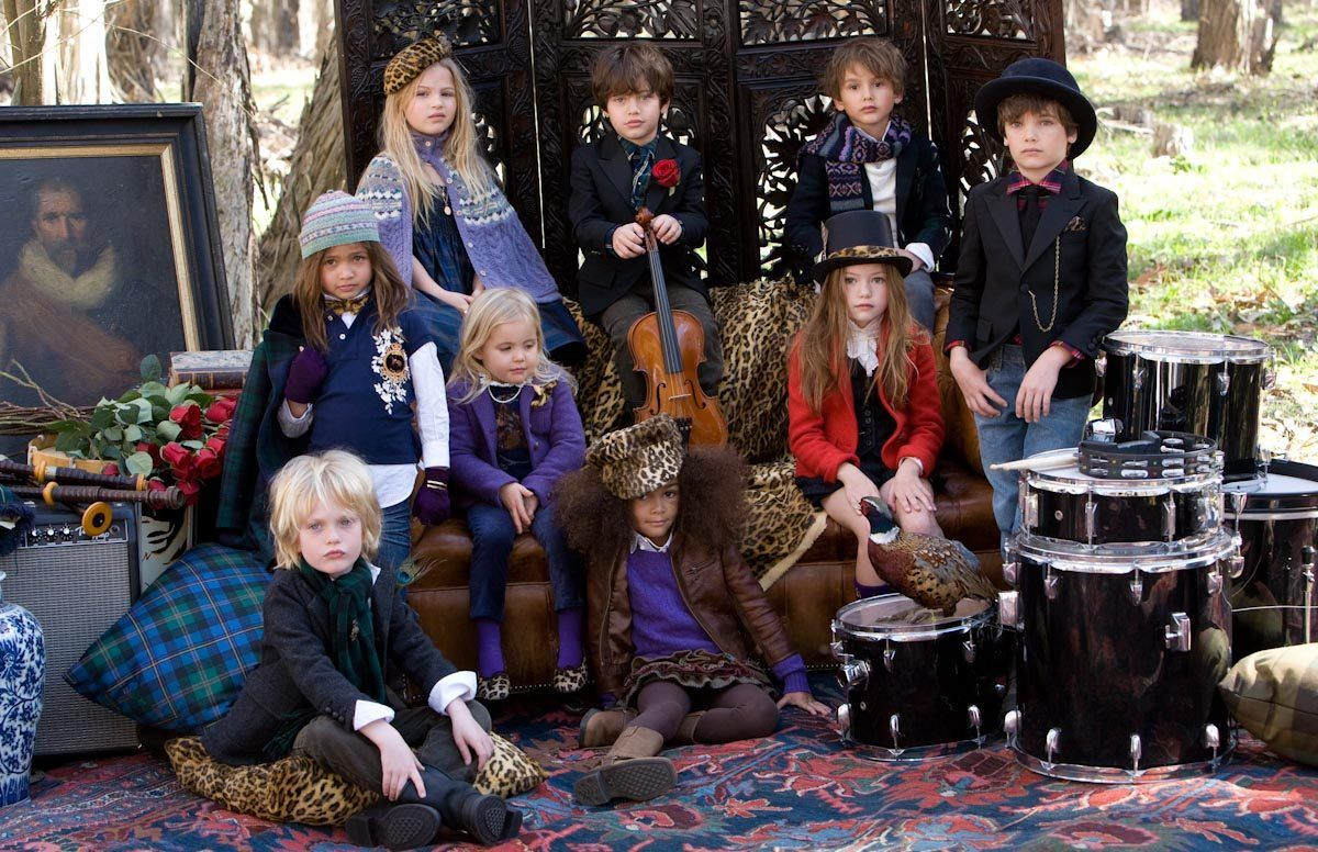ralph lauren children advertisements