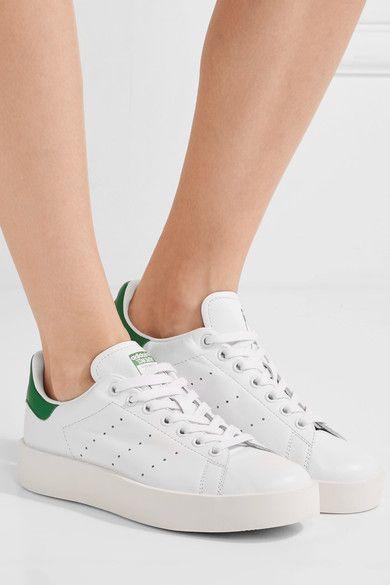 Adidas stan smith audace di cuoio bianco pinterest prodotti.