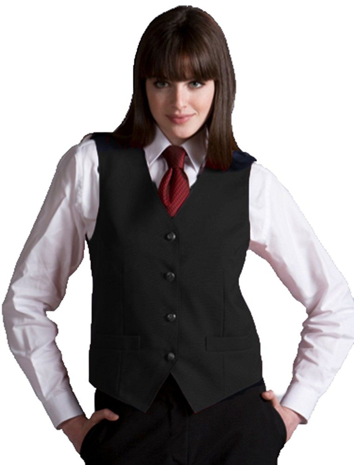 Edwards Garment Women s Fully Lined V-Neck Economy Vest -- This is an  Amazon Affiliate link. Learn more by visiting the image link. b27d1ebee3