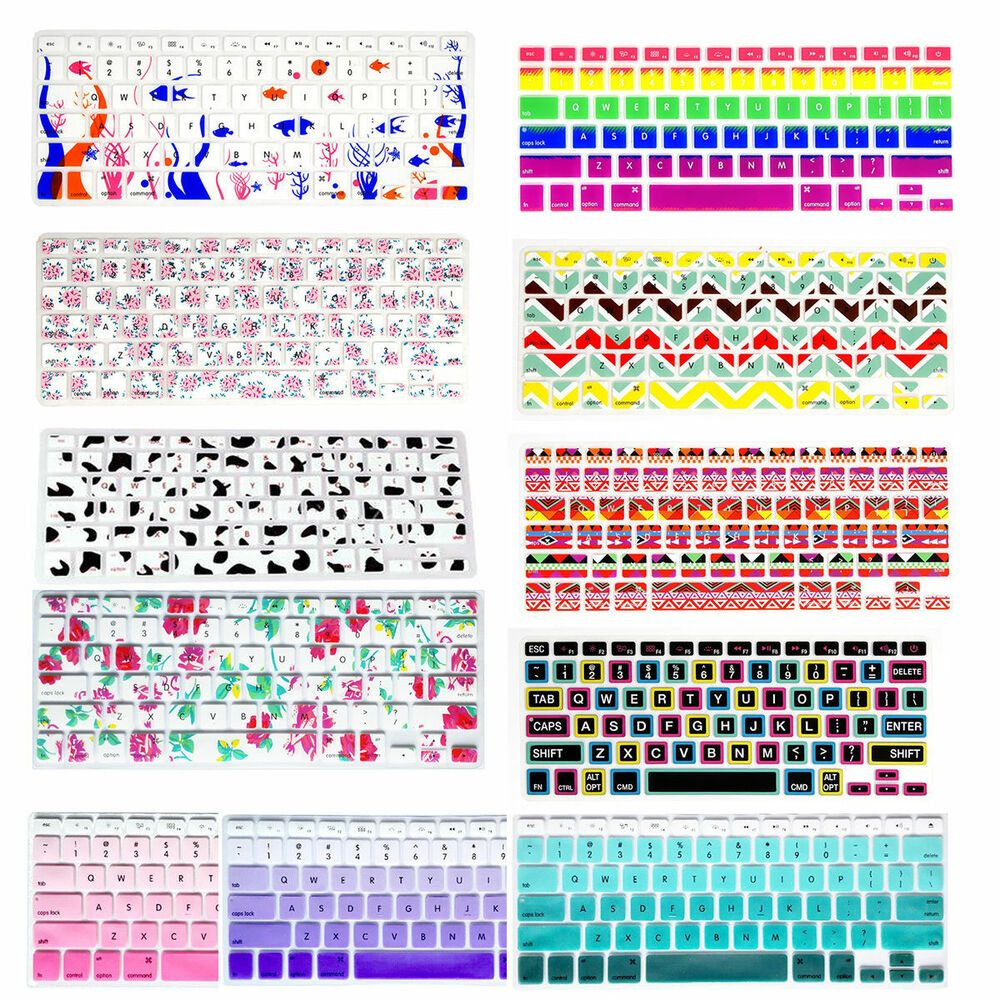 Silicon Decal Keyboard Cover Keypad Skin Protector For Old Macbook Air Pro 13 15 Keyboard Cover Keyboard Decal Macbook Keyboard Decal