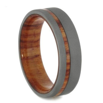 Wedding Rings Photography Mens Wooden