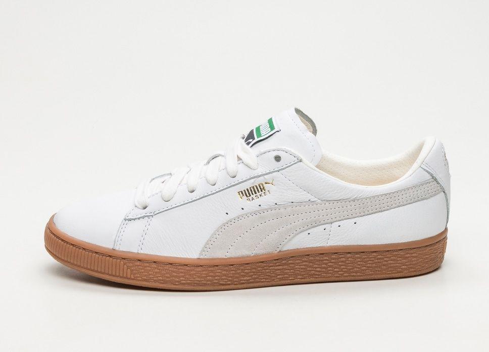 ac9d4657c9c Puma Basket Classic Gum Deluxe (Puma White)  lpu  sneaker  sneakers ...