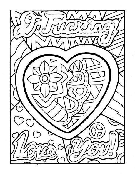Trust image with free printable cuss word coloring pages