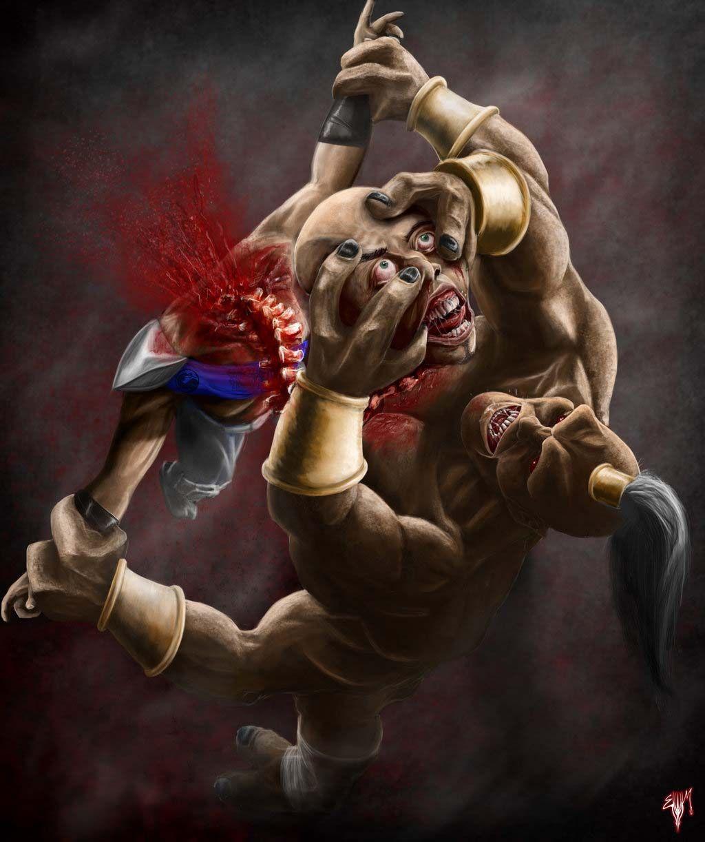 Mk Legacy Prince Goro Mortal Kombat Fan Art By Esau13 Mortal