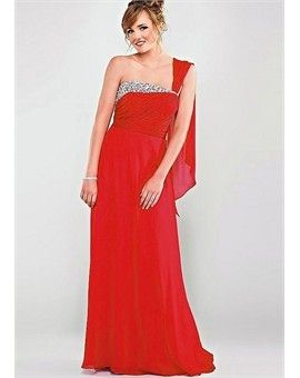 Hot red prom dress for girls!