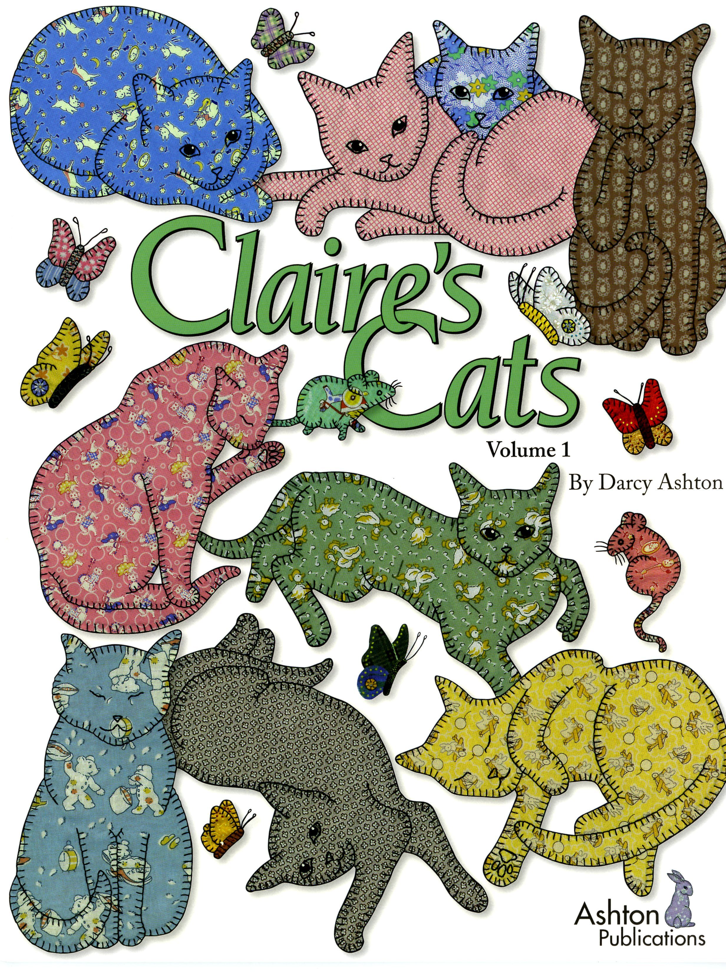 Claire's Cats by Darcy Ashton Volume 1 Fun applique