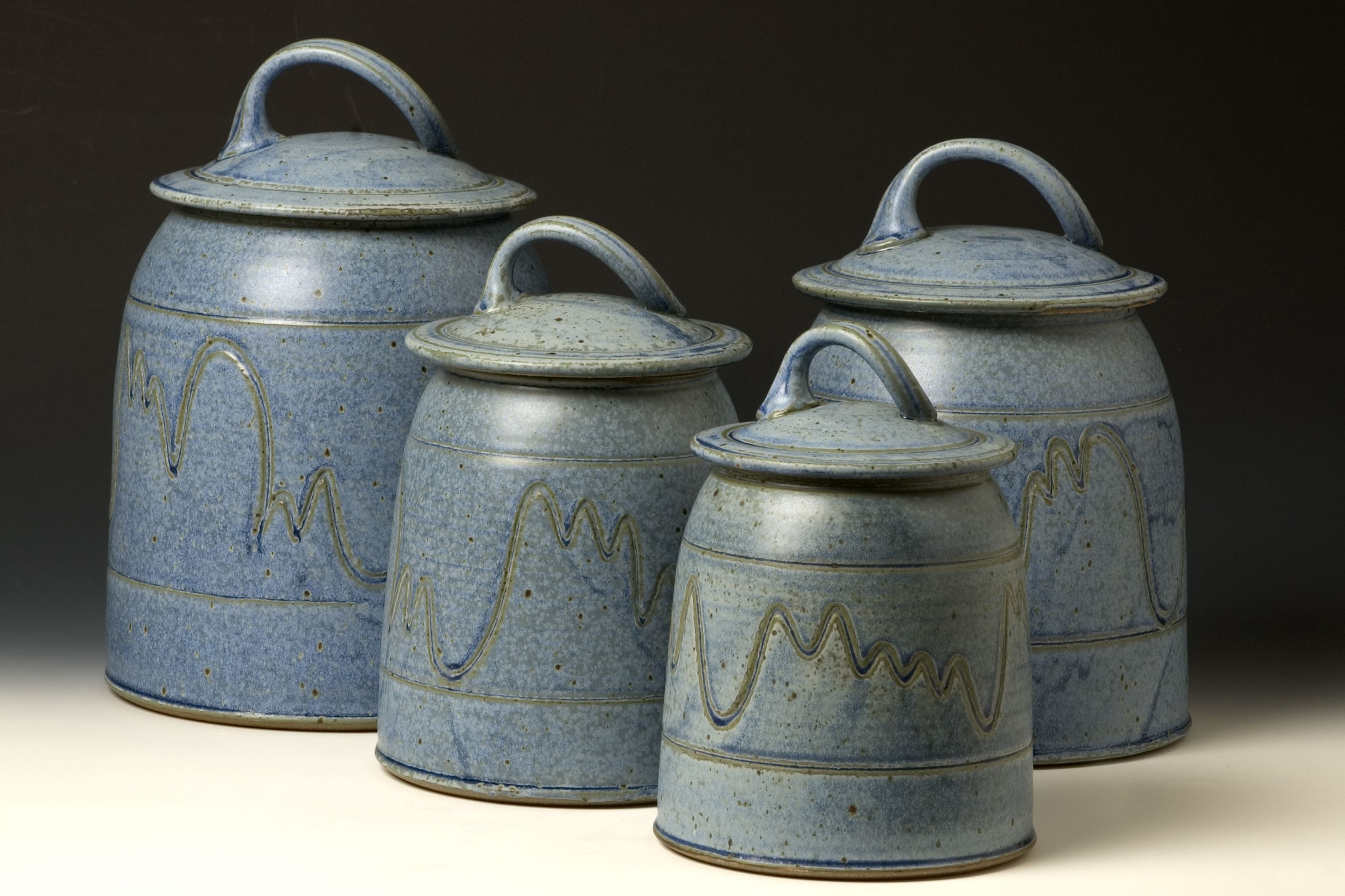 surprising Park Design Canister Set Part - 13: Quail Run Pottery Canister Set