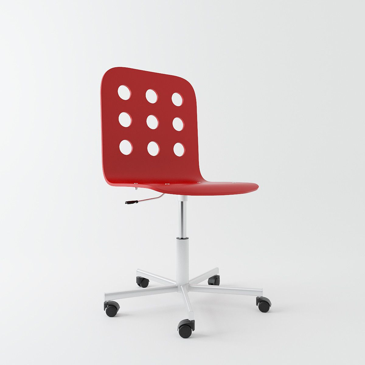 Charming Ikea Jules Swivel Chair Max   3D Model