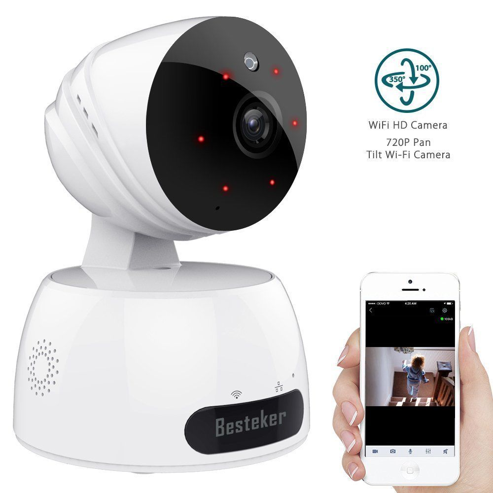Security Camera System Wireless Outdoor for Home 720p Night Vision ...