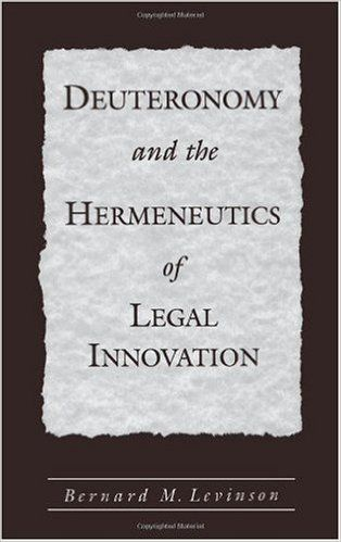 Deuteronomy and the Hermeneutics of Legal Innovation shows the struggle of its authors to renew late seventh-century Judean society. Seeking to defend their revolutionary vision during the neo-Assyrian crisis, the reformers turned to earlier laws and revised them in such a way as to lend authority to their new understanding of God's will. Passages actually reflect the attempt by Deuteronomy's authors to sanction their new religious aims before the legacy of the past.