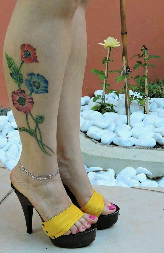 tattoo Stripper heels