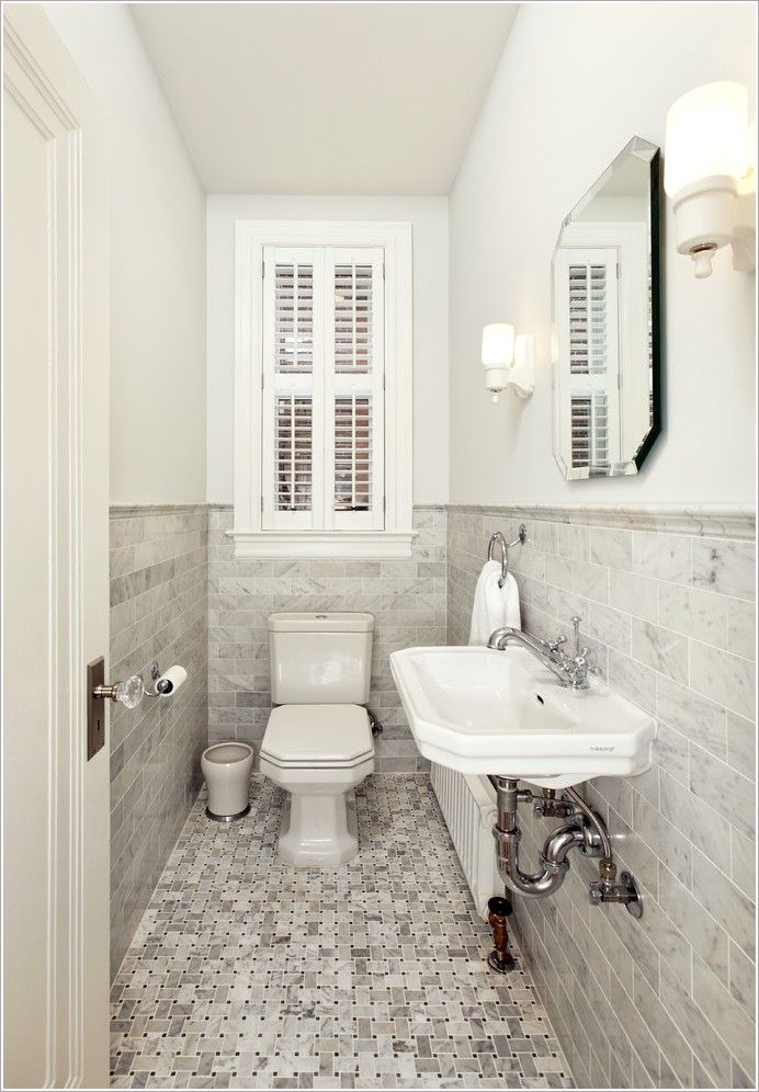 Tiny Powder Room Modern Browse The Gallery And Share