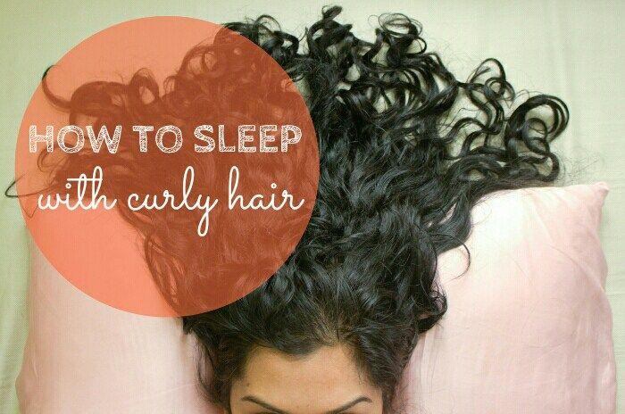 4 Ways To Sleep With Curly Hair Curlsandbeautydiary Curly Hair Styles Curly Hair Styles Naturally Curly Hair Care